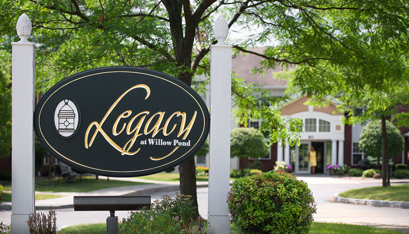 Legacy at Willow Pond Rental Senior Living Community Offering Independent Living